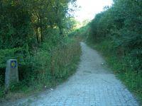 Camino hacia el interior de Galicia