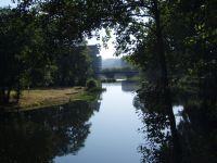 Rio Umia en Caldas de Reis